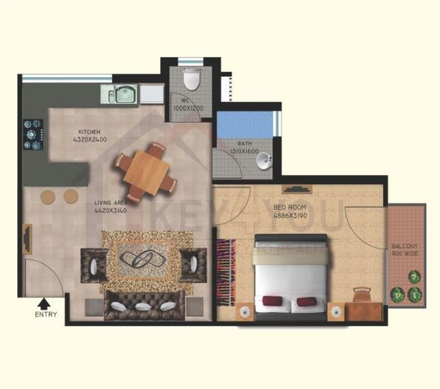 Lotus homz Sector 111 Floor Plan