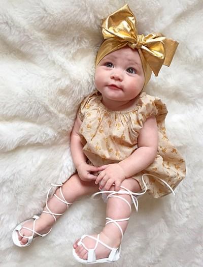 Stylish baby Freya Fossaceco had over 5k Instagram followers