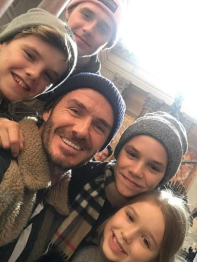 David Beckham melts hearts with Father's Day tribute to ...