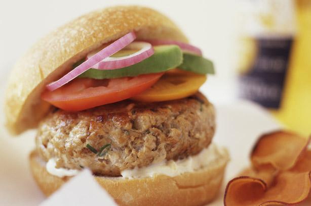 Low Fat Chicken Burgers Recipe Goodtoknow