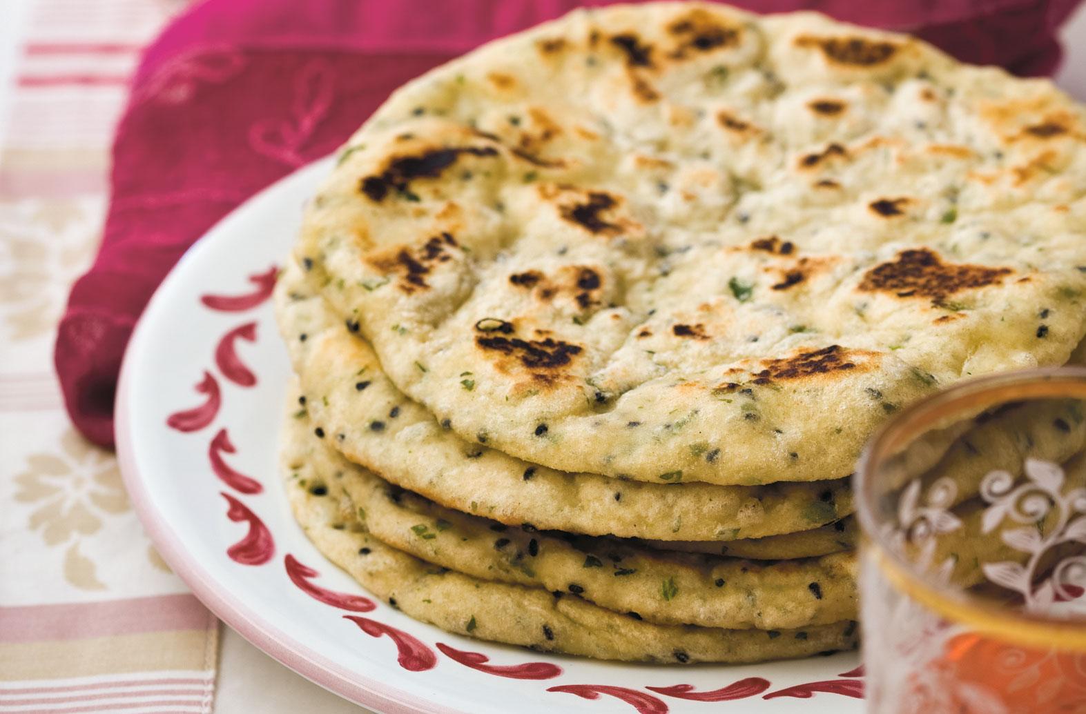 Naan Bread Indian Recipes Goodtoknow