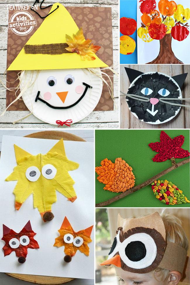 Autumn Crafts Kindergarten