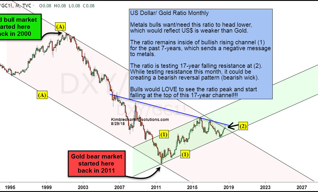 Gold bugs, Is a 17-year opportunity forming?