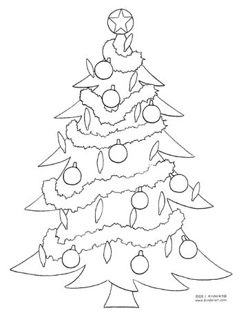free christmas color pages # 5