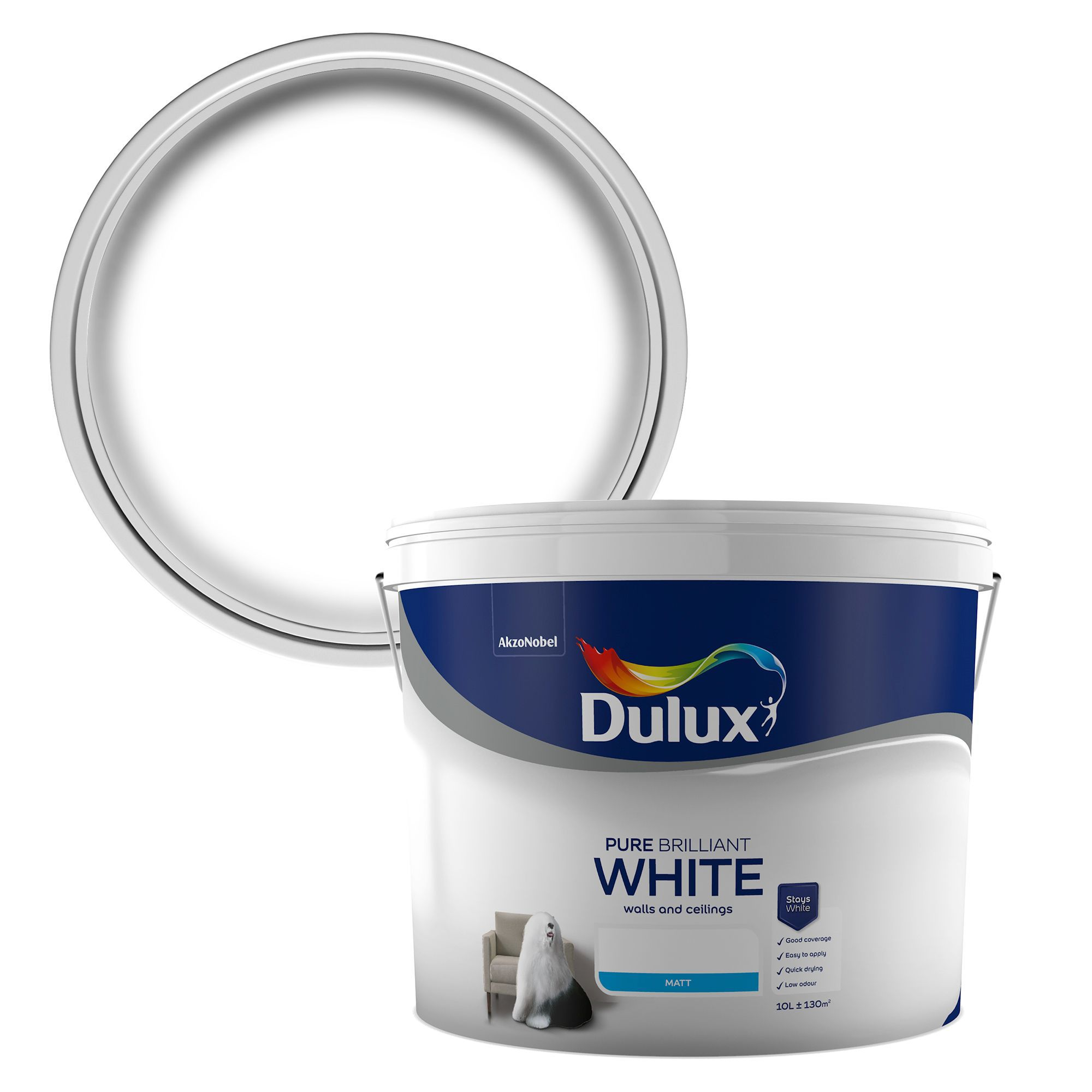 White Kitchen Paint 10l