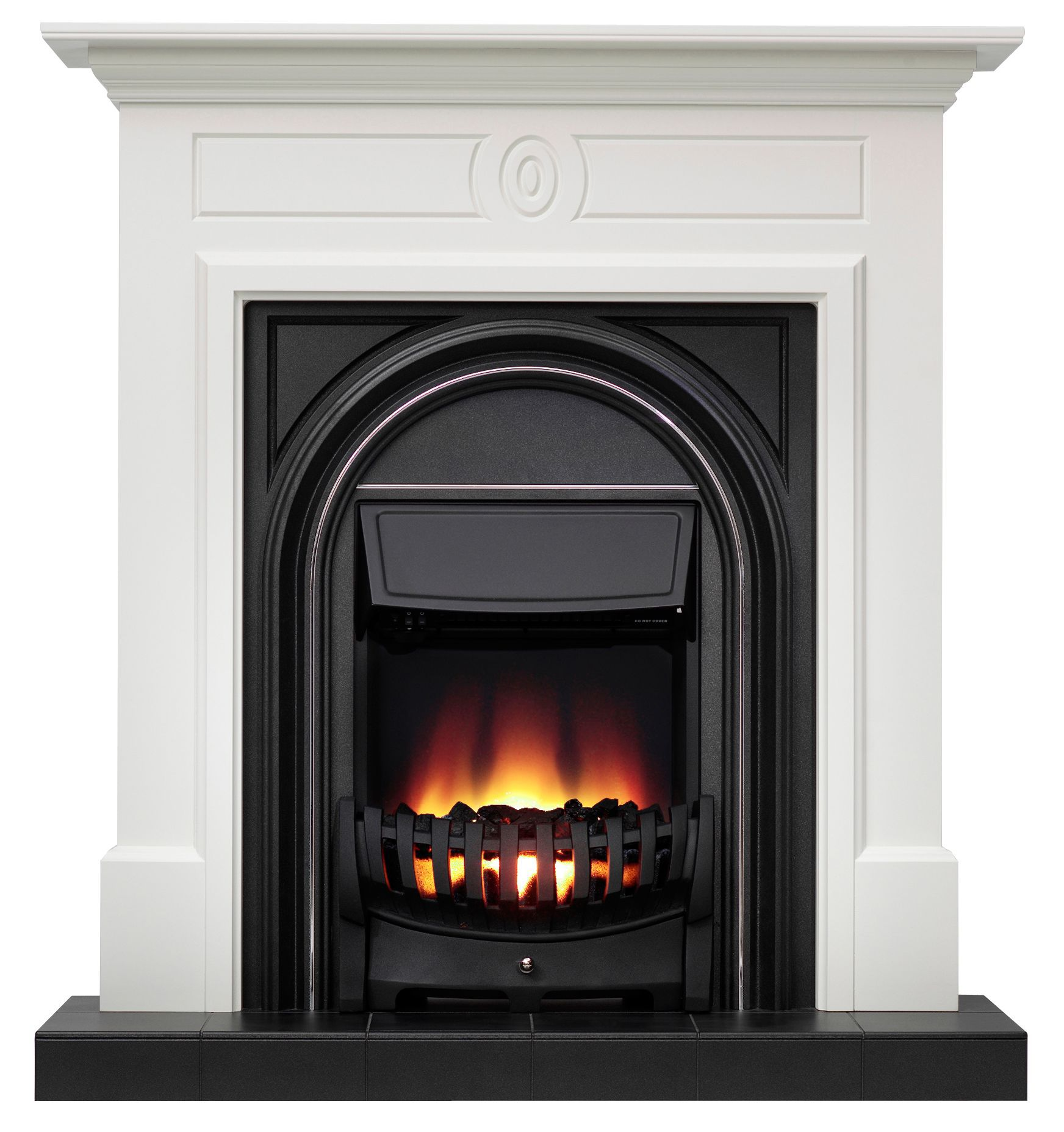 Be Modern Dalston Black Electric Fire Suite Departments