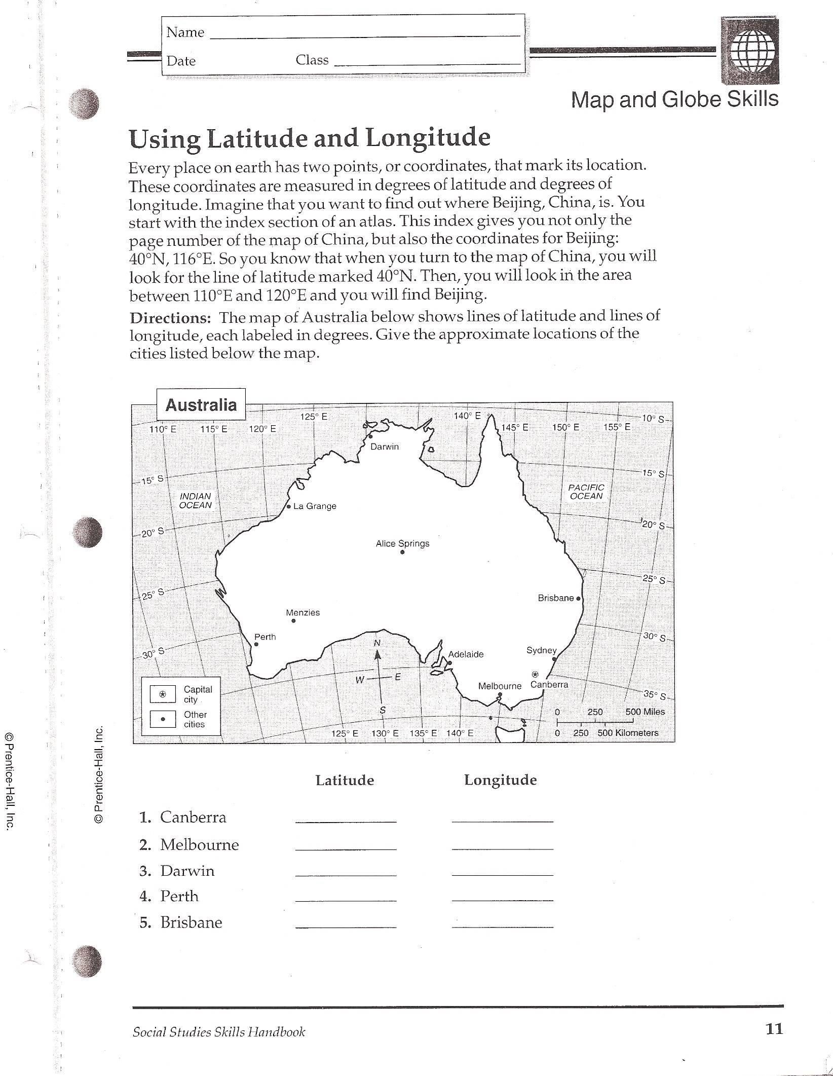worksheet latitude and longitude worksheets latitude and longitude practice worksheets free library w ksheets l titude