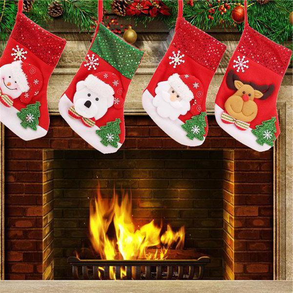 Karácsonyi zokni ajándékokért