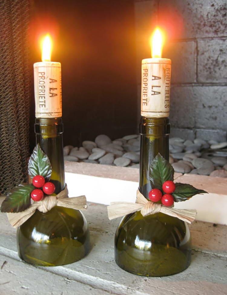 Coupez la bouteille en verre à la maison facilement sans aucun outil spécial avec de l'eau chaude et froide. Et voici un merveilleux chandelier!