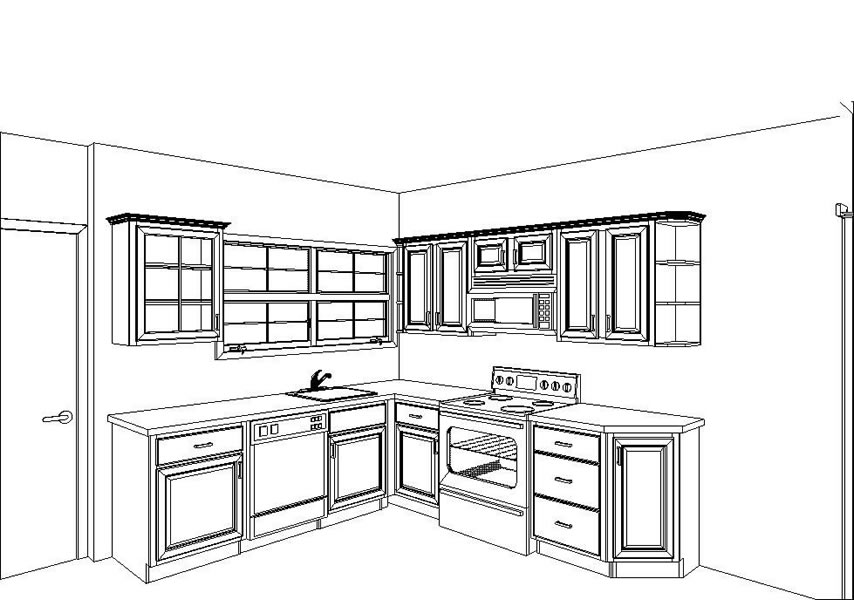 Plan Kitchen Cabinet Layout Plans Free Download Grumpy41fnk