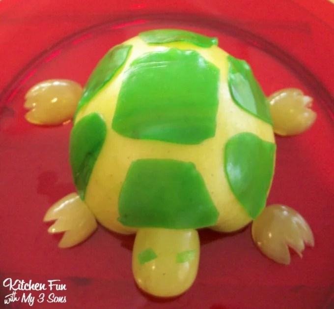 Turtle Apple Snack