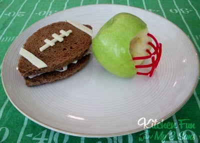 Football Quarterback Snack!