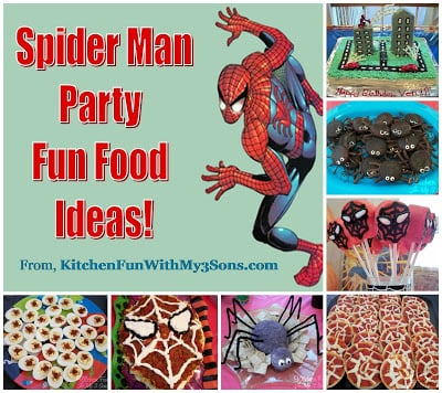 Spider Man Party Ideas for Birthday