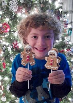 Christmas S'mores Boy & Girl Pops!
