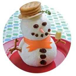 Snowman Cheesball