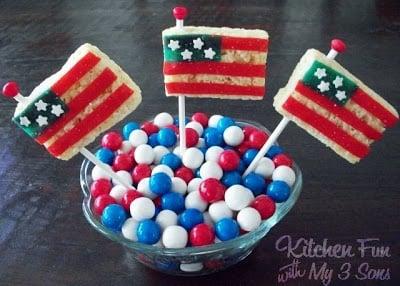 Snap, Crackle, & Flag Pops!
