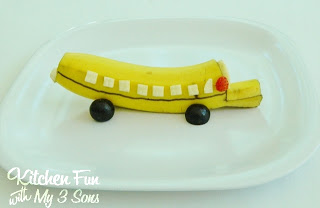 Banana School Bus