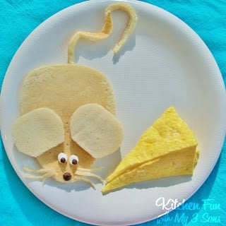 Mouse and Cheese Breakfast