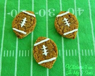 Oatmeal Creme Football Pies