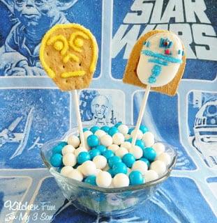 C3PO & R2T2 S'mores Pops