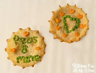 Valentine's Day Chicken Pot Pie