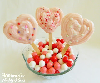 Valentine Yogurt Pops