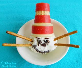 Cat in the Hat Ice Cream Snack