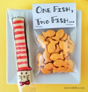 Dr. Seuss Cheese Stick & Fish Cracker Snacks