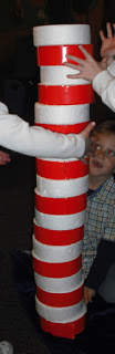 Cat in the Hat Stacking Game