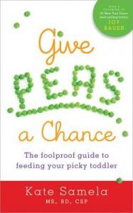 Give Peas a Chance cookbook by Kate Samela