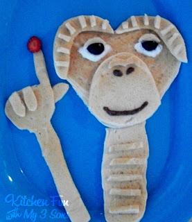 E.T. Phone Pancakes