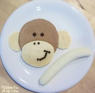 Morning Monkey Pancakes