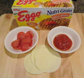 Pepperoni, Sauce and Eggos