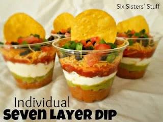 Individual 7 Layer Dips