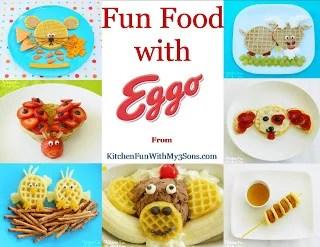 7 fun food creations for Eggo