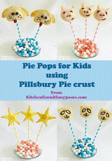 4 pie pop ideas using Pillsbury pie crust