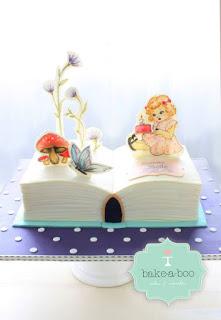Pop Up Book Cake