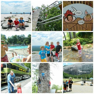 There were so many fun things to do at Stone Mountain Park & Campground!