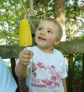 Corn on a Stick
