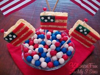 Snap, Crackle, & Flag Pops