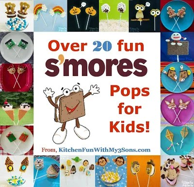 20+ of our S'mores Pops...Happy National S'mores Day!!