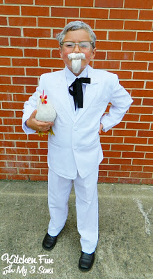 Now for our Colonel Sanders