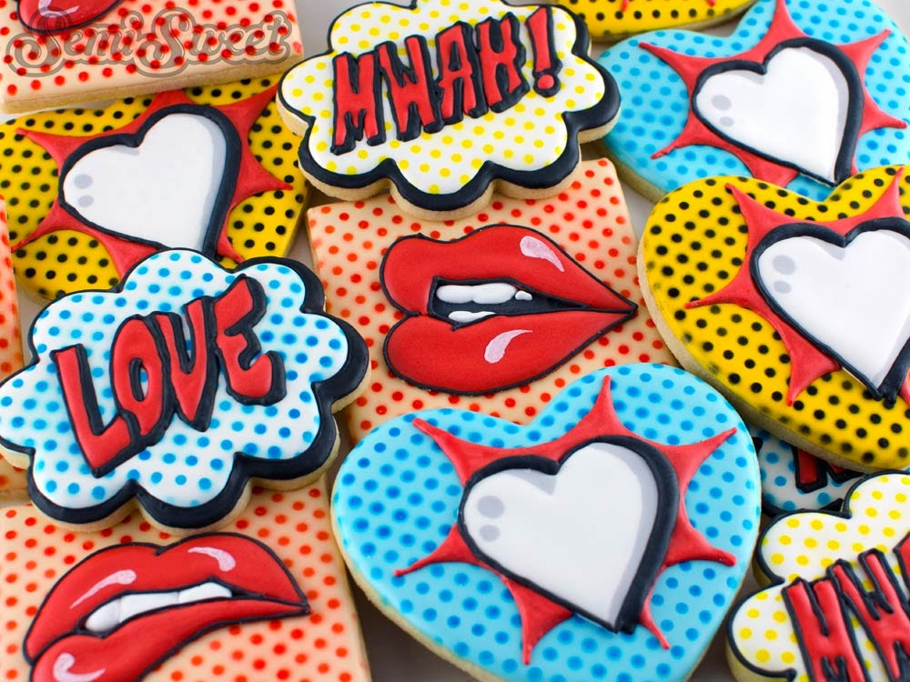 Pop Are Valentine Cookies