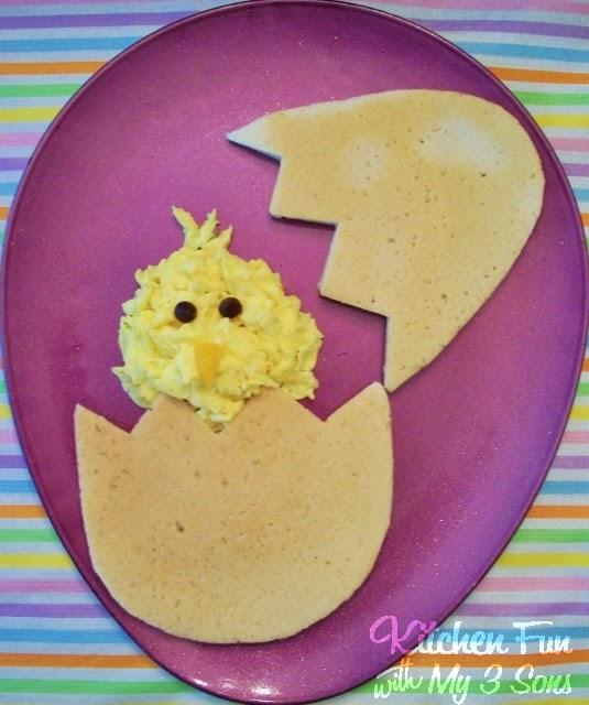 Peeping Chick Pancakes