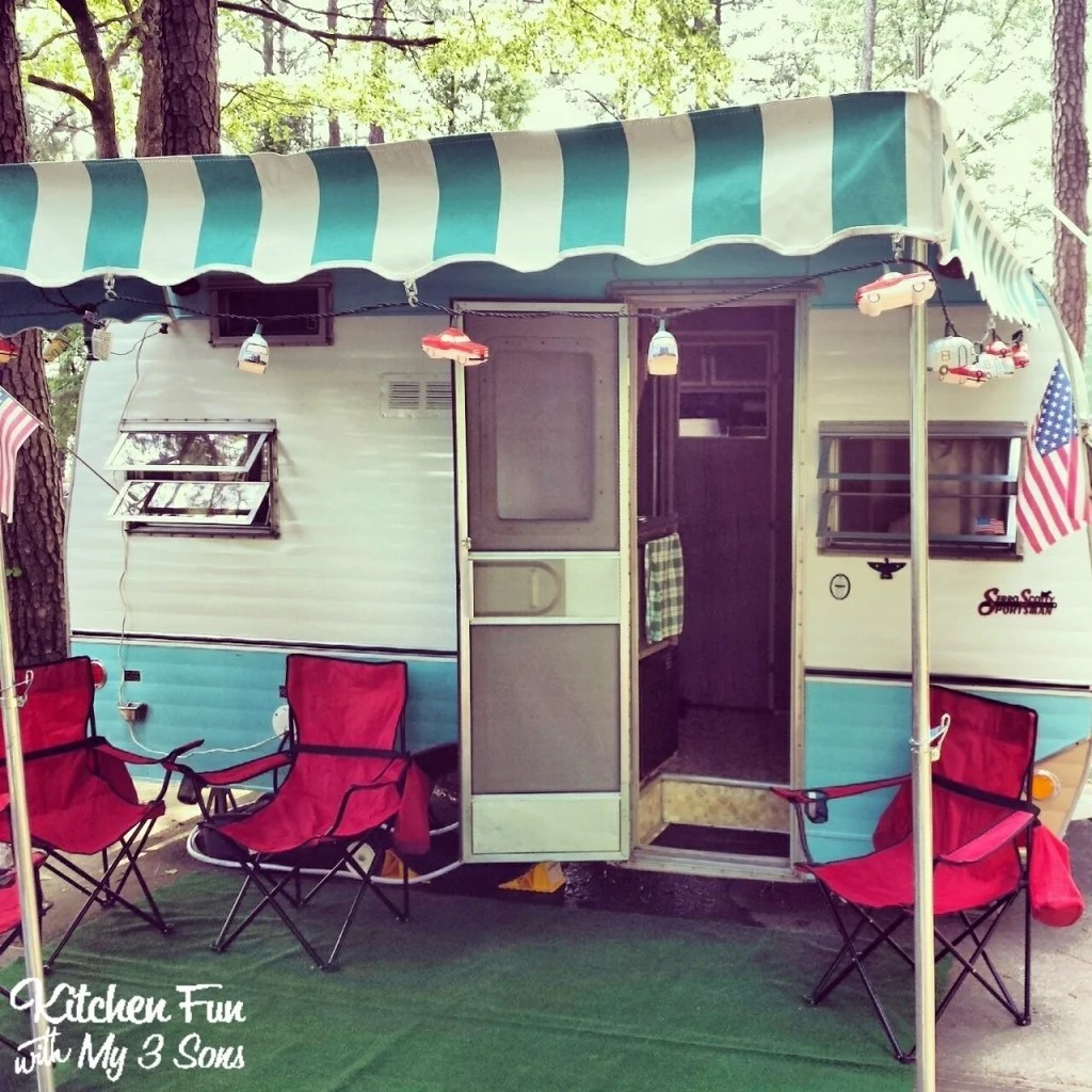 Here is our little travel trailer
