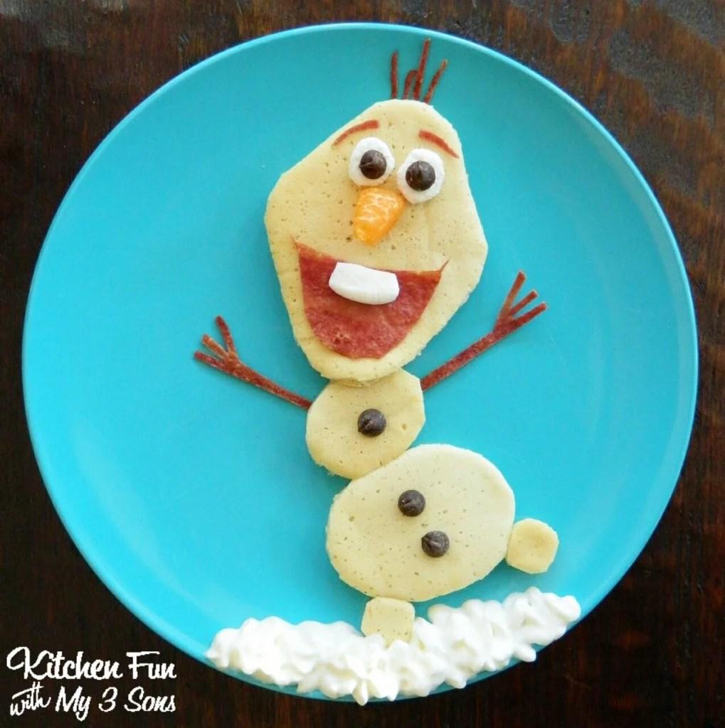 Olaf Pancake for Breakfast
