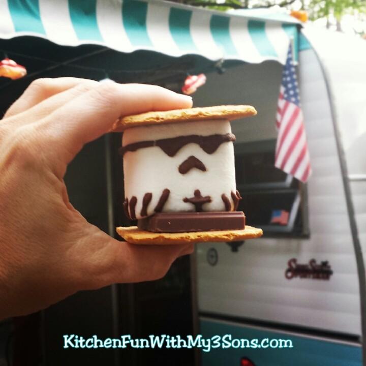 Storm Trooper S'mores!