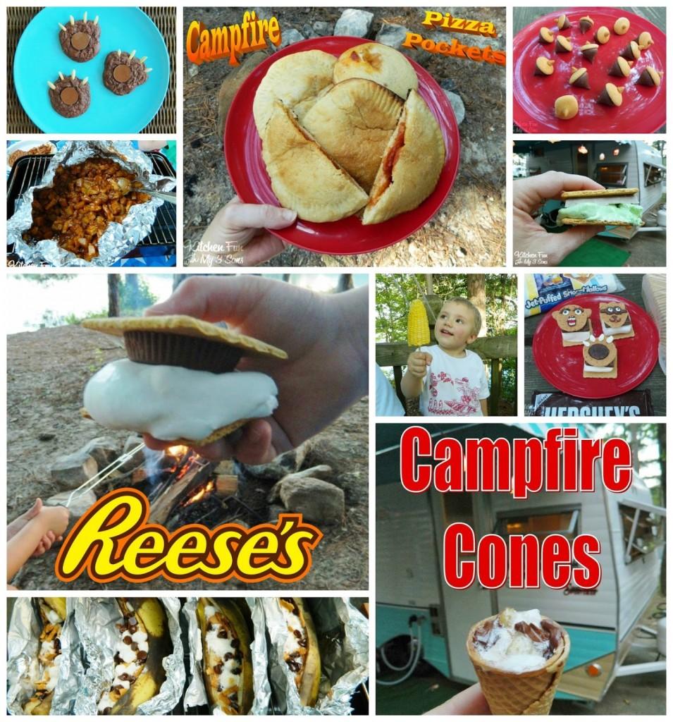 Lots of Camping Fun Food & Craft Ideas