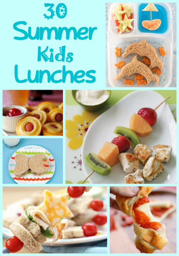 30 Kids Summer Lunches