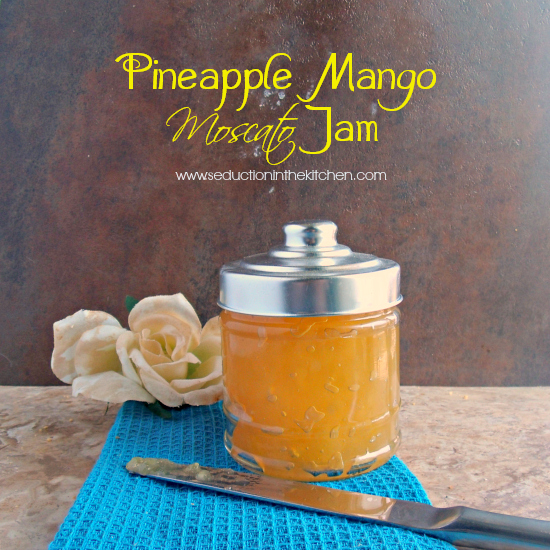 Pineapple Mango Moscato Jam